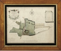 plan of an estate situated at grove street in the parish of hackney by william hurst ashpitel