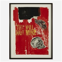 thy will, not mine by leon golub