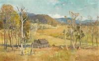 the settler's hut by albert henry fullwood
