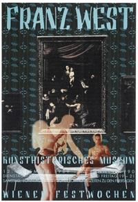 plakatentwürf (kunsthistorisches museum wien) by franz west