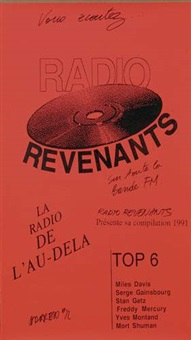 radio revenants by philippe parreno