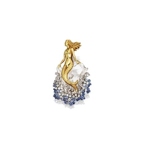 a mermaid brooch by verdura