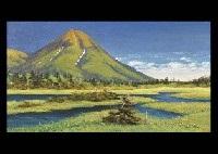 landscape in early summer by genichiro adachi