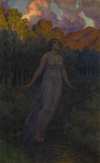 ophelia by fjodor ivanovitch rerberg