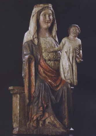 madonna with child by german school 14