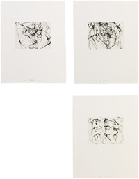 after botticelli: 1-5 by brice marden