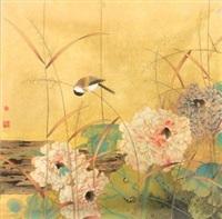 荷塘小鸟 by jia guangjian