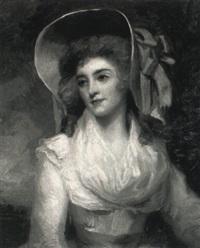 portrait of miss bowman by john westbrooke chandler