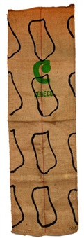 sac de farine by claude viallat