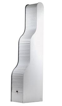 roll-front cabinet, model no. 107-3 by klaus vogt