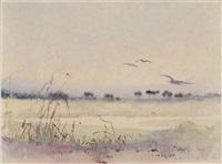 charleston marsh scene by alice ravenel huger smith