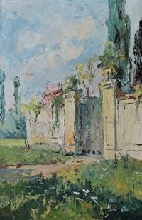 l'entrata della villa by giuseppe amisani