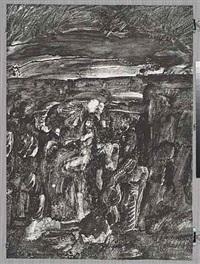 untitled (figures in landscape) by john paul jones