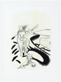immagine feroce (portfolio of 5) by enzo cucchi