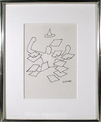 papers by mark kostabi