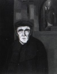portrait of a man by johan van hell