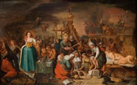 hexensabbath (collaboration w/workshop) by frans francken the younger