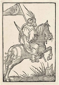 a turkish horseman by albrecht dürer