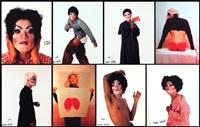 fashion modeling series (set of 8) by iké udé