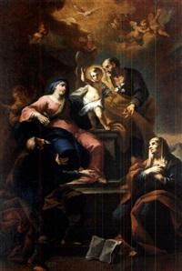 die heilige familie by martino altomonte