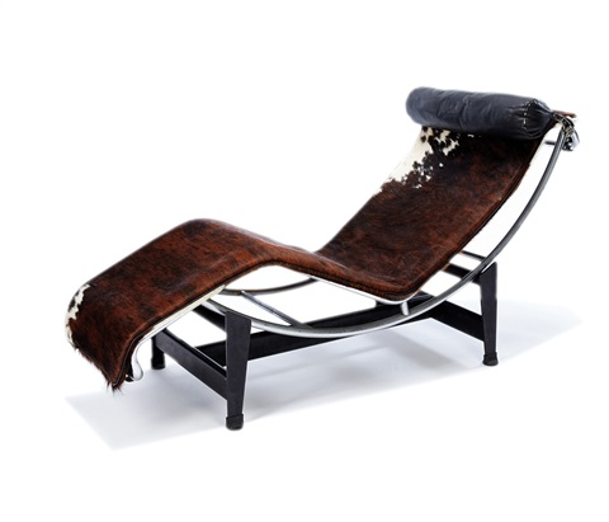 Chaise lounge by le corbusier on artnet for Chaise le corbusier
