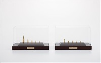 gold bullets (10 works) by chris burden