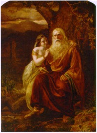 king lear and his daughter by edward matthew ward