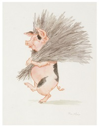 you are all grown up now, it is time for you to go out into the world (from three little pigs) by thea kliros