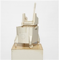 untitled (mop bucket and wringer) by tom sachs