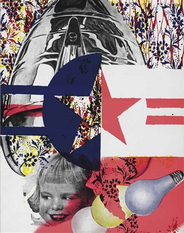 f 111 castelli gallery mailer by james rosenquist