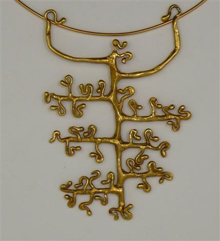 collana con pendente albero della vita by angelica kellner
