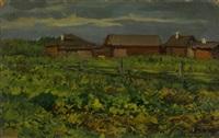autumn by leonard (leonid) viktorovich turzhansky