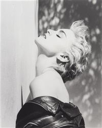 madonna (true blue portfolio) by herb ritts