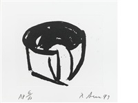 t.e. sketch by richard serra