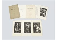 maitres et petits maitres d'aujourd'hui (portfolio of 4) by georges rouault