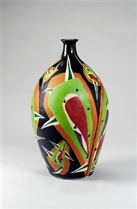 a large vase by kumakura junkichi