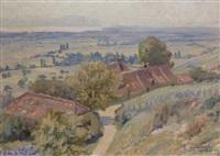 village de la campagne lémanique by paul lepinard
