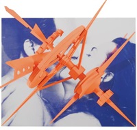 machine in models love (study) by robert longo