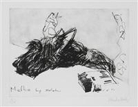 melba by malcom by malcolm morley