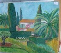 jardin devant la maison by roussin