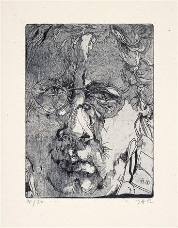 sieben radierungen folge 2 portfolio of 7 by horst janssen