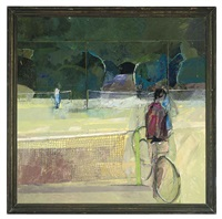 at the tennis courts by eileen hogan