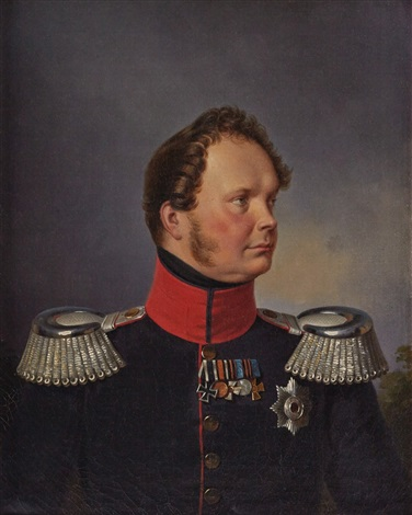 king frederick william iv by franz krüger