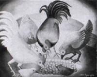 en mangeant du maïz by wilson bigaud