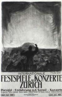 festspiele u. konzerte/ zürich by erika von kager