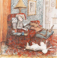 afternoon nap by susan macartney-snape