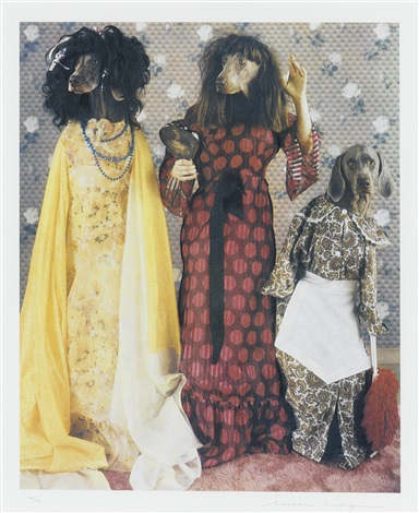 stepsisters from cinderella by william wegman