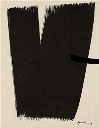 farandole (set of 15 original lithographs) by hans hartung