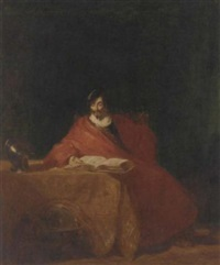 the scholar by henry liverseege