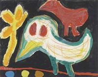 oiseaux (birds) by karel appel